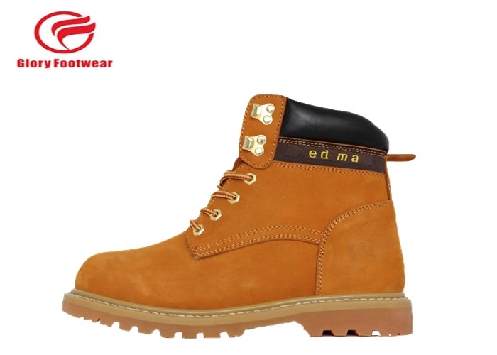 Security Handmade Goodyear Welted Winter Boots Industrial For Mens Metal Toe