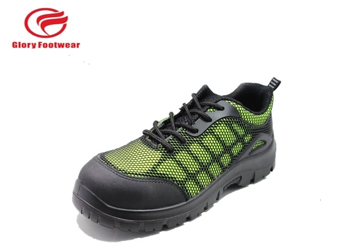 Mesh Fabric Men Lightweight Industrial Safety Shoes Anti-Static Customized